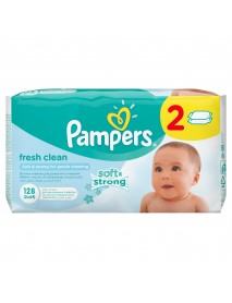 Pampers Fresh Clean Nedves T. 2X64Db